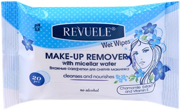 Make-Up Remover Wet Wipes Micellair Water